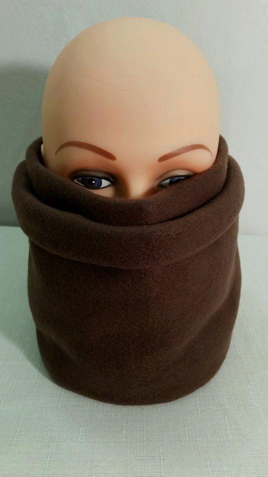 Brown Fleece Scarf, Brown Scarves for Women, Brown Mens Scarves, Ladies Fleece…
