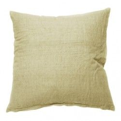 Engen & Engen - Linen Cushion cover / vintage gold / 50x50 cm.