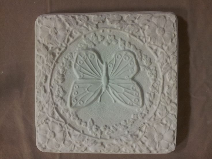 Concrete Butterfly Stepping Stone