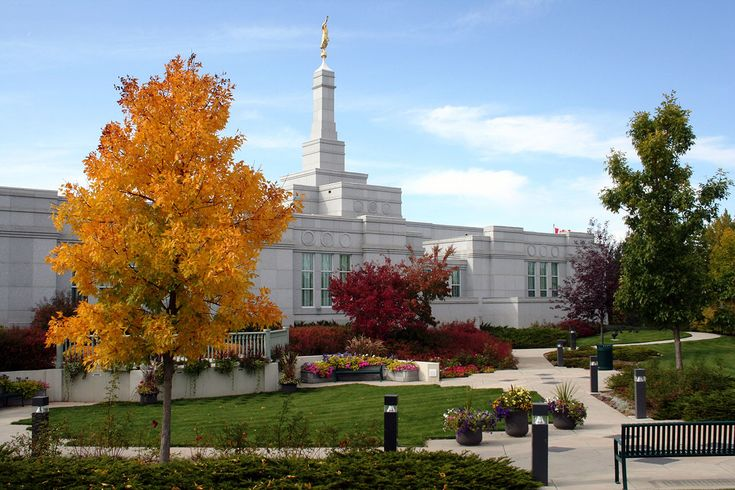The day of dedication of the Regina Saskatchewan Temple marked a historic first: the dedication of two temples on the same day. Description from ldschurchtemples.com. I searched for this on bing.com/images
