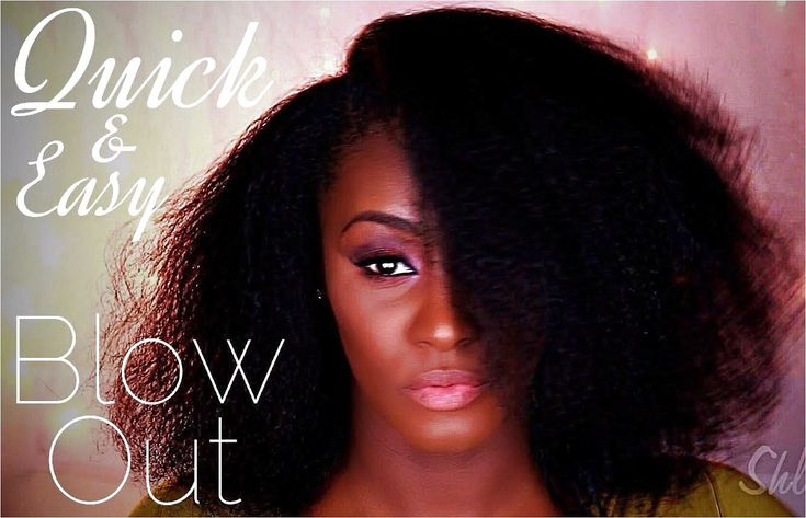Blowout on Natural 4b Fine Hair – click on the image or link for more details.