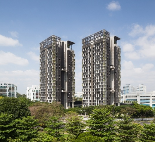 National University of Singapore Faculty Housing | MKPL Architects Ltd; Photo: Robert Such | Bustler