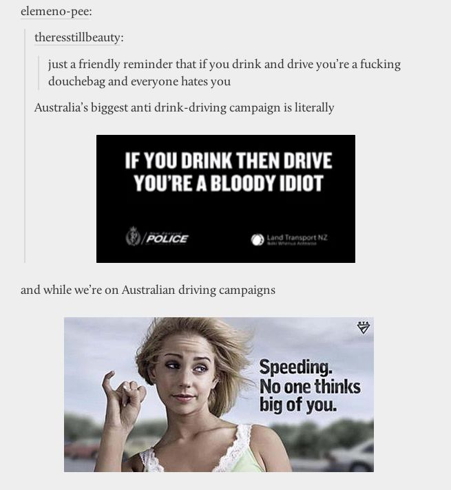 WHAT THE ACTUAL HECK???????? NEW ZEALAND POLICE WERE THE ONES BEHIND THAT BLOODY IDIOT AD YOU FUCKTARDS