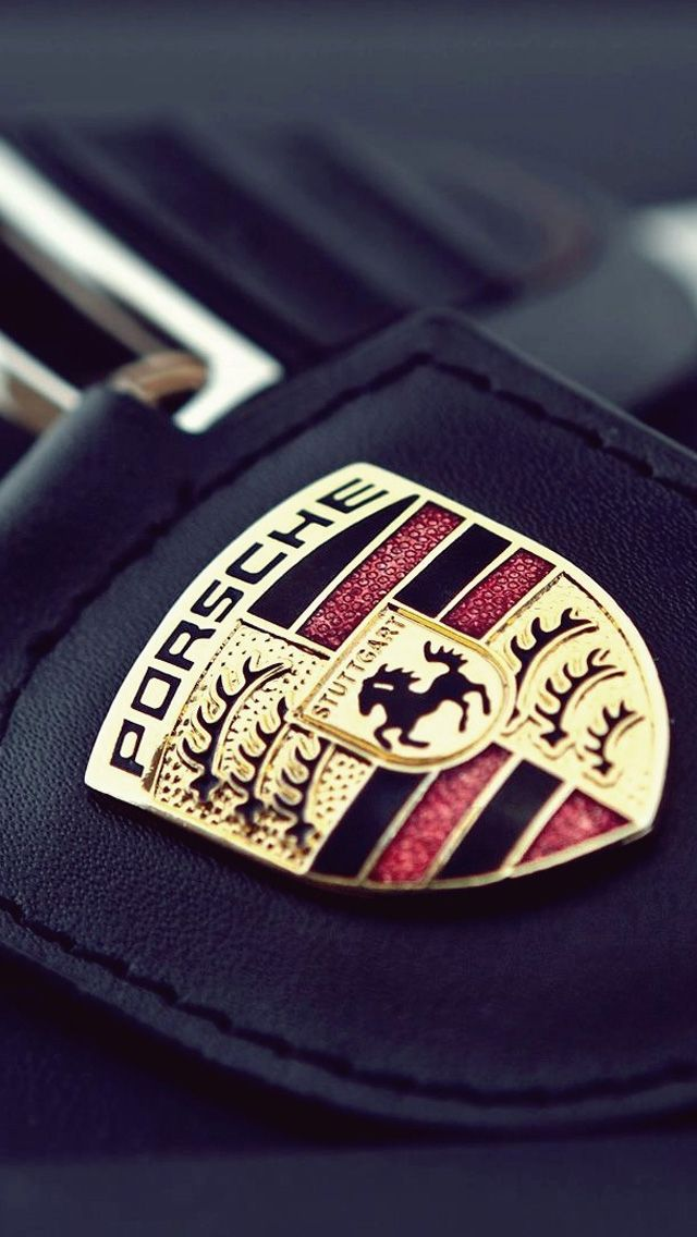 iphone 5 wallpaper iphone and wallpapers on pinterest porsche logo - Porsche Logo Wallpaper Iphone