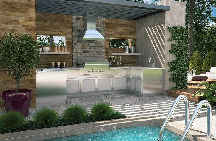 l 39 art de vivre l 39 ext rieur cuisine sur mesure salles de bain garde robe tendances. Black Bedroom Furniture Sets. Home Design Ideas