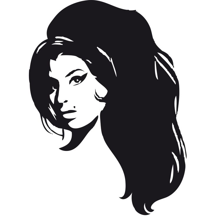 Professional Screeding Pop And Painting Designs Works: Amy Winehouse Stencil - Google Search