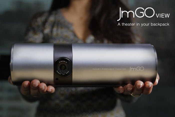 JmGO View Smartphone Controlled Portable Projector Offers 180 Inch Projections (video)