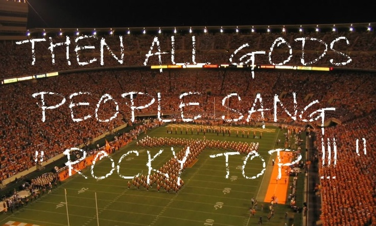 Rocky Top oh yes!