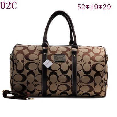 Coach Travel Bag Style Brown 003