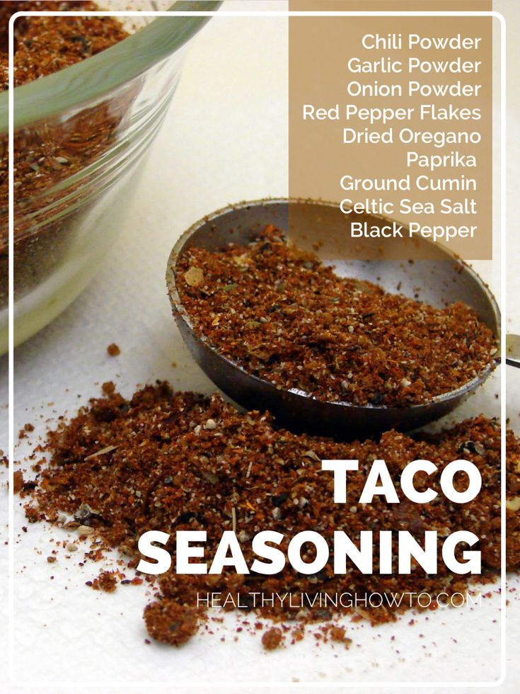 Healthy Homemade Taco Seasoning | healthylivinghowt...