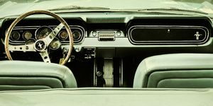 The Old Ford Mustang