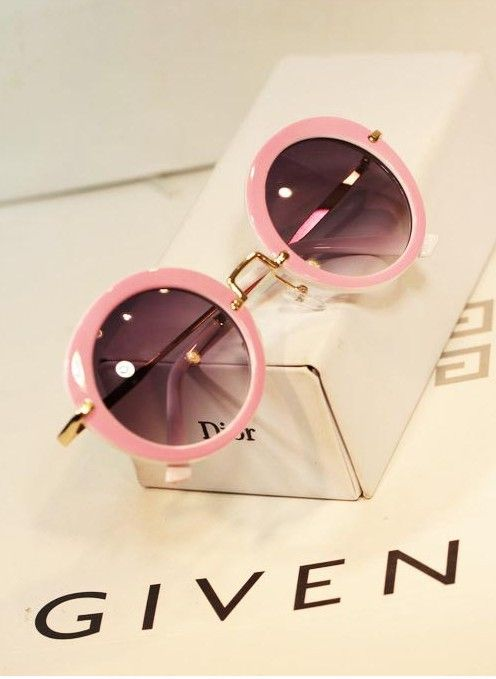 vintage round sunglasses oculos De sol 2014 brand design women fashion sun glasses free shipping US $6.39