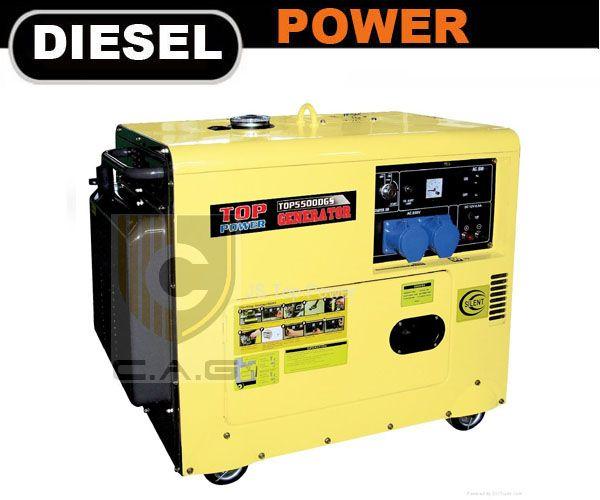 4kw Silent Type Diesel Generator Cag Engines