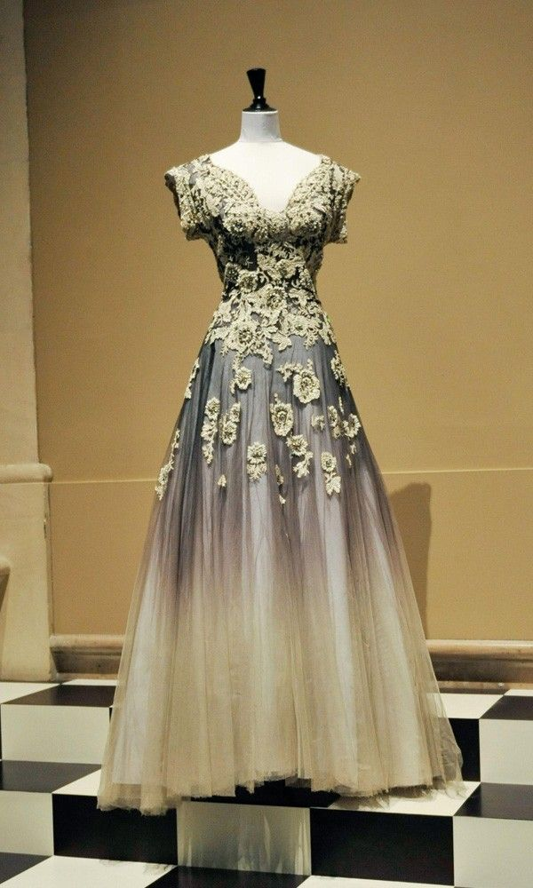 evening gown vintage fashion pinterest