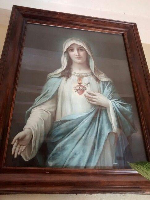Maria Santisima, ruega por nosotros e intercede ante Tu Hijo Amado, nuestro Señor