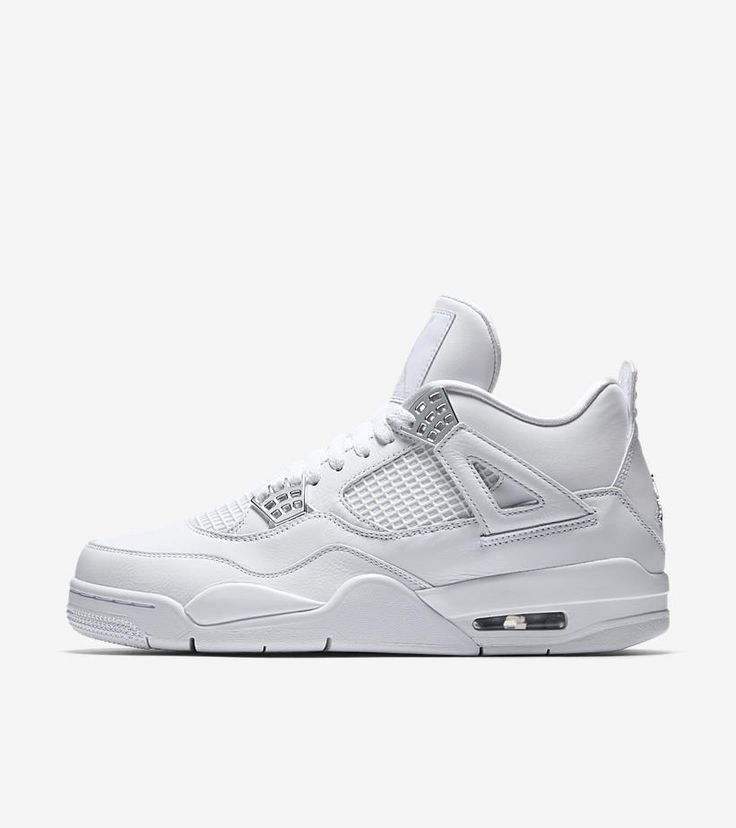 NIKE  WHITE PURE PLATINUM AIR JORDAN + PHARRELL WILLIAMS LIMITED EDITION TRAINER #AIRJORDANNIKEPHARRELLWILLIAMS #Trainers