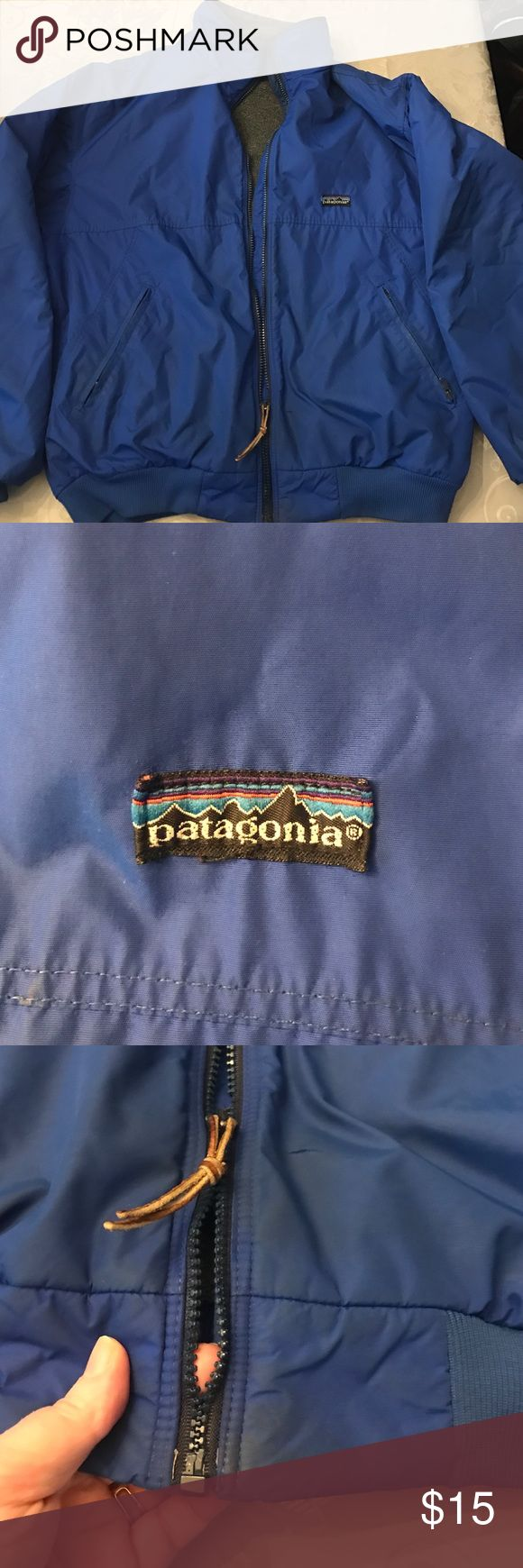 Men's Patagonia jacket Good shape but needs a new zipper. Super warm. Large. Patagonia Jackets & Coats