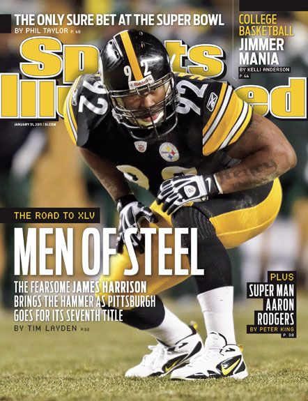 James Harrison, Football, Pittsburgh Steelers