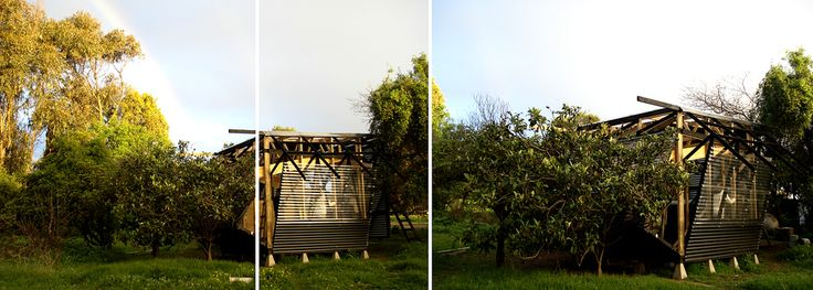 """Proyecto """"Vórtice del Oficio"""", Cuidad Abierta, Ritoque, Chile"""