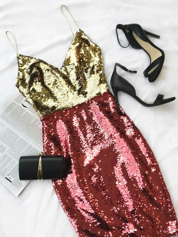 The sparkling and sequin dresses to invest in for the holidays and new years eve   MARCIANO.com