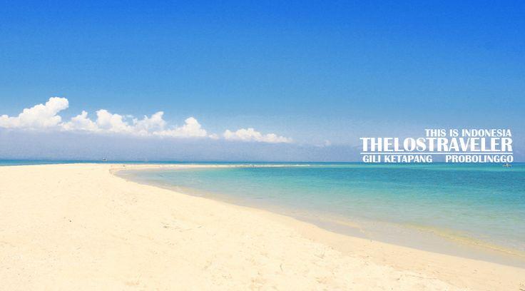 Pulau Gili Ketapang in Probolinggo, Jawa Timur