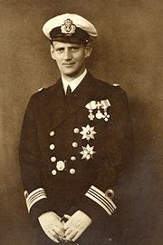 Frederick IX of Denmark (1899 - 1972). King of Denmark from 1947 until he died in 1972. He married Ingrid of Sweden and had three children.