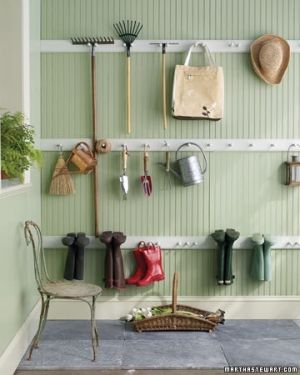 Create A Peg Rail Organizer   49 Brilliant Garage Organization Tips, Ideas  And DIY Projects.garden Shed.