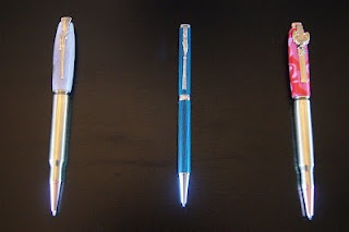 Hand-crafted, outdoor themed pens!