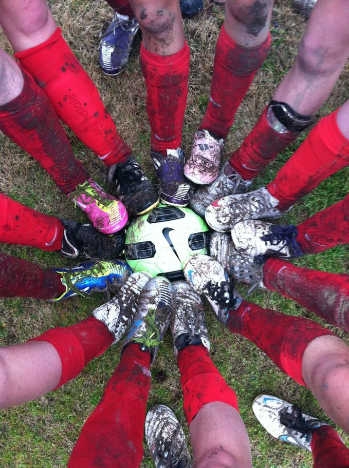The afterglow of a muddy soccer game conquer girls I have to get a picture like this