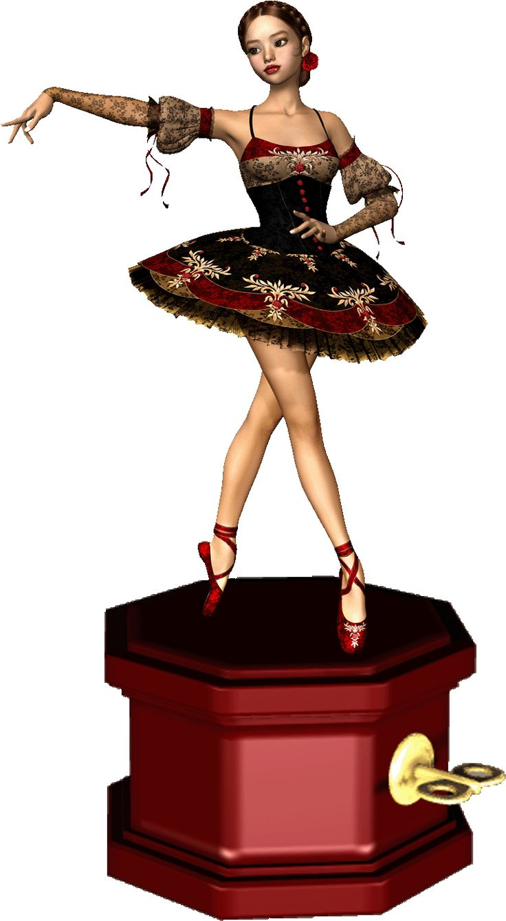 Images For > Ballerina Music Box Clip Art