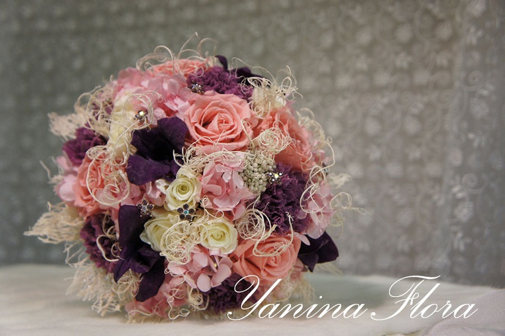 Зимний букет для невесты. | YaninaFlora.Цветы для свадьбы и других событий.