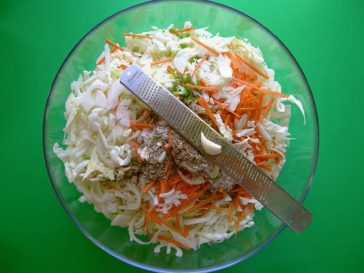 Curtido is a Salvadorean fermented cabbage side dish similar to sauerkraut, but with some fun additional ingredients like cumin + jalapeño! It's a super tasty way to work some fermented foods into your diet! Try some in a breakfast bagel, bean burrito or as a side salad for a Latin Night! Make your own at home with our recipe, the latest post at eastvankitchen.com!  Like our page to keep up to date with new recipes from EVK!