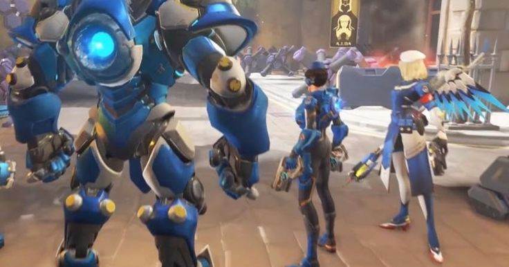 Overwatch Insurrection trailer leaks shows today's new PvE mode #Playstation4 #PS4 #Sony #videogames #playstation #gamer #games #gaming