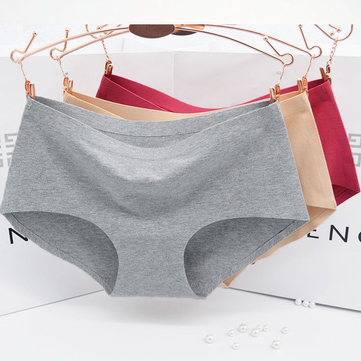 The new process pure cotton  Women's   Panties  non-trace seamless underwear Ms in waist sexy underwear Natural cotton briefs *** For more information, visit image link.