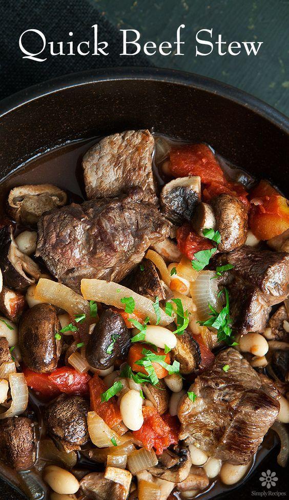 Best 20+ Quick Beef Stew ideas on Pinterest | Beef stew ...