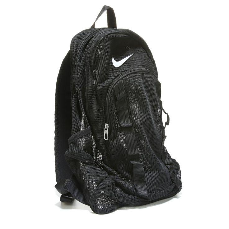 Nike Brasilia Mesh Backpack Accessories (Black) - 0.0 OT