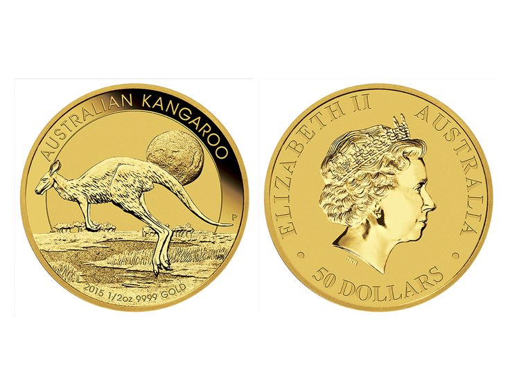 The 1/2 ounce Australian Kangaroo coin is the second most popular weight with our coin-buying clients. It still offers investors the potential for numismatic appreciation just like the 1 ounce coin. #abcbullion #gold #minted #coin #australian #kangaroo #pallion