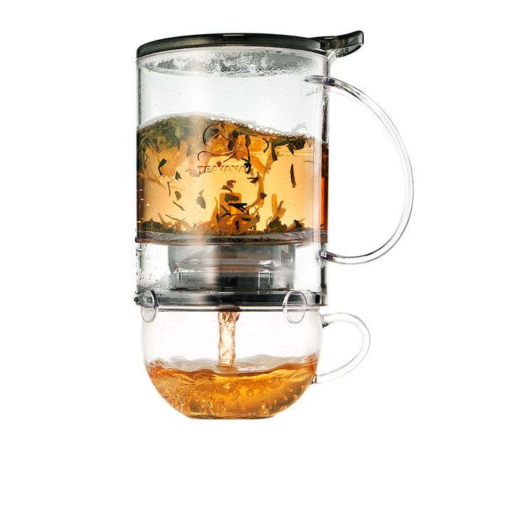Perfectea Maker—The perfect tea for one. This beautifully designed, dishwasher-safe tea maker lets you steep and filter loose-leaf tea in a glass chamber you can place over your favorite teacup. Bonus: It's mesmerizing to watch the tea leaves unfurl as they brew.