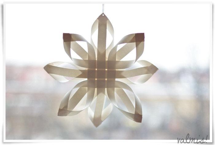 Tee ite: Paperinen joulutähti - Kaikki mitä rakastin | Lily