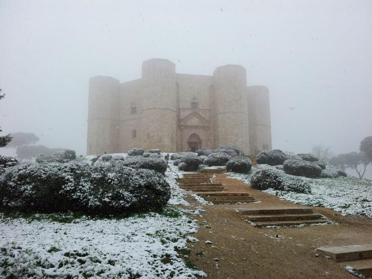 castel del monte 2013 in snow