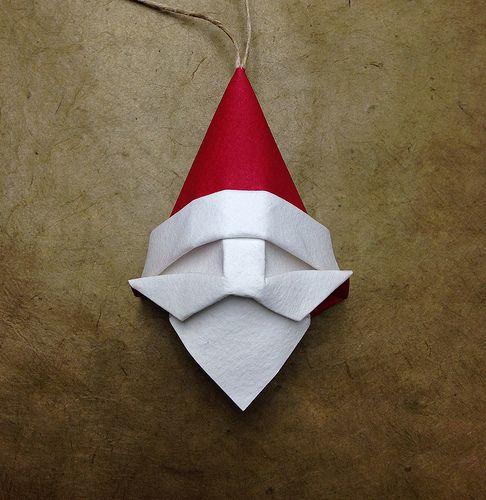 Santa Ornament   A simple santa ornament for the holidays :)…   Flickr