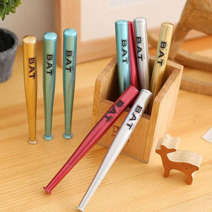 4 Pc Creative Novelty Baseball Gel Pen Pen Children Writing As Gifts For Students Randomly Sent  EUR 1.66  Meer informatie  http://ift.tt/2pcqJyY #aliexpress