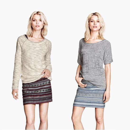 W @Hollie Baker&M pierwsze jesienne obniżki!  Ciepłe bluzki i kardigany, spódnice na każdą okazję, dopasowane dżinsy i modne kurtki czekają na Was w sezonowo obniżonych cenach. Nie zwlekajcie! Zajrzyjcie do H&M, przygotować się na piękną jesień.
