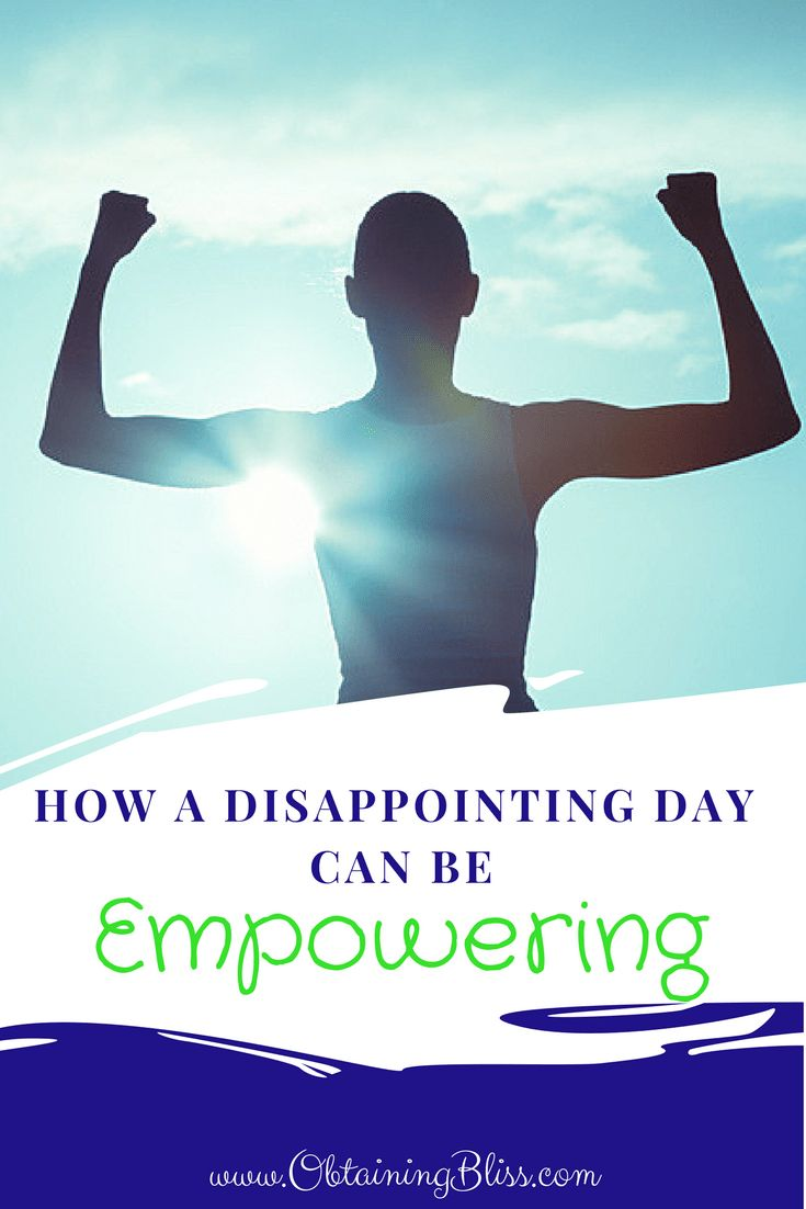 Ever have one of those days where one thing after another goes wrong? Learn How a Disappointing day can be empowering in this latest post. #depression #anxiety #empowerment