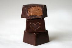 Fyldte chokolader og fif til temperering af chokoladen