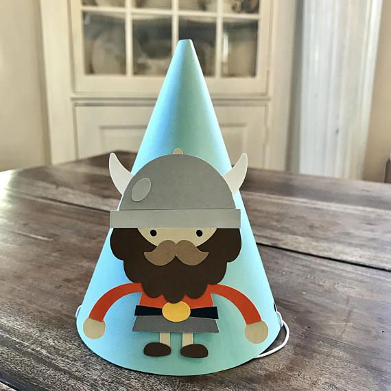 Viking Party Hats Set Of 6
