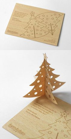 nice christmas card idea ::