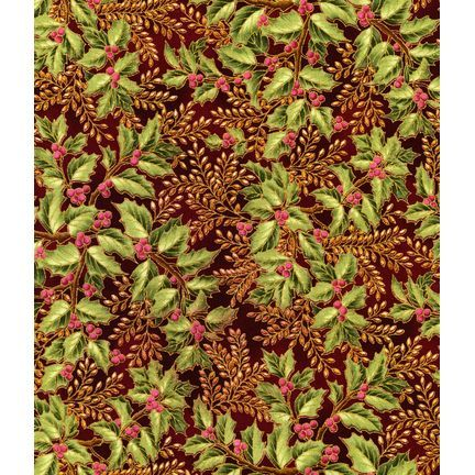 Robert Kaufman - Holiday Flourish APTM-7905-91 CRIMSON