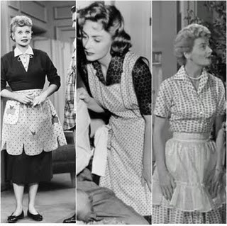 TV moms: Lucy, Donna Reed, June Cleaver...the good old days when tv shows had meaning and were funny...