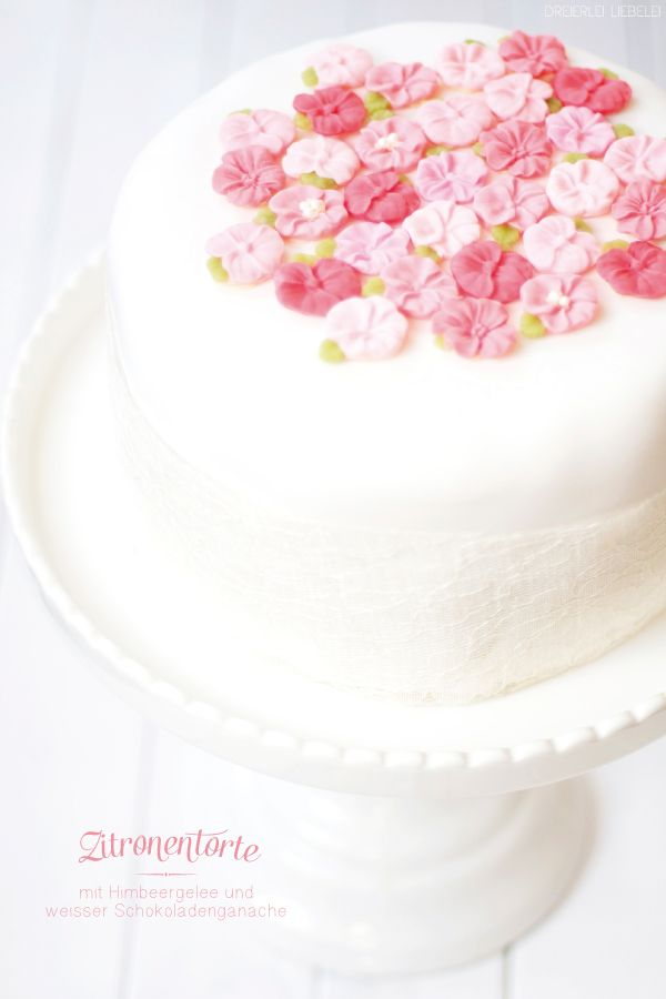 Dreierlei Liebelei: Aller Anfang ist (gar nicht so) schwer! Meine erste Fondant-Torte.